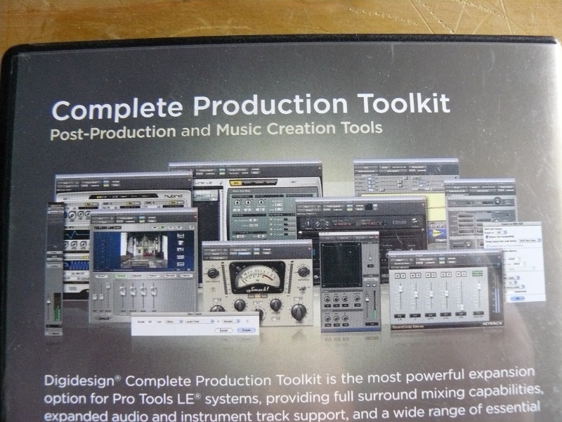 avid digidesign 003 pro tools 8 dongle software complete production toolkit ebay. Black Bedroom Furniture Sets. Home Design Ideas